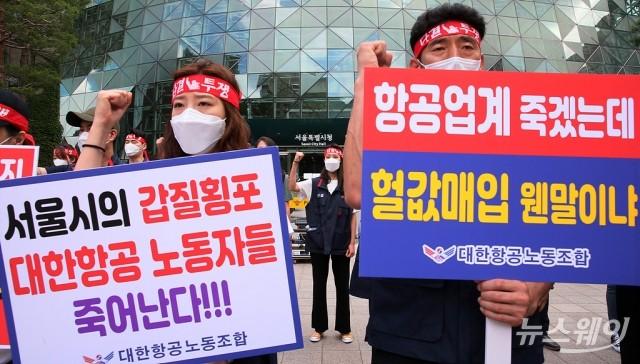 """대한항공, 권익위에 의견서…""""송현동 공원화 강행 막아달라"""""""