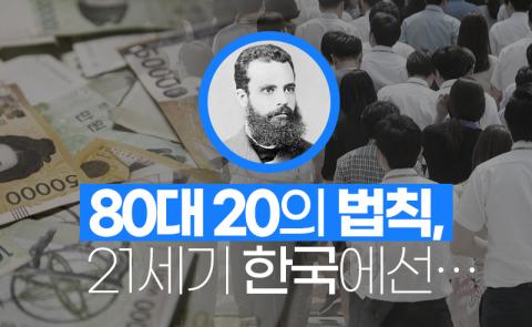 80대 20의 법칙, 21세기 한국에선…