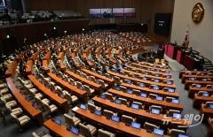 민주당 등 범여권, 상임위원장 6곳 선출 표결 강행…통합당 보이콧