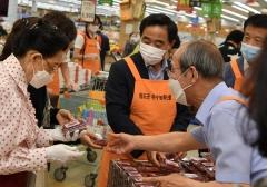 청도군, 부산서 우수농특산물 산딸기 판매대전 펼쳐 호응