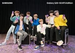 """BTS 효과 볼까"" 삼성전자, '갤럭시 S20+BTS 에디션' 출시"