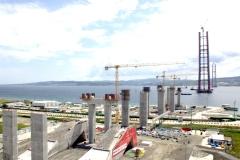 대림산업·SK건설 컨소, 터키서 세계 최고 높이 주탑 완성