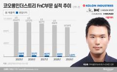 '이웅열 장남' 구원투수 나선 코오롱FnC, 추락세 여전···분위기 반전 실패