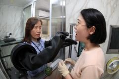 광산구, 전국 최초 '자동화' 선별진료소 운영