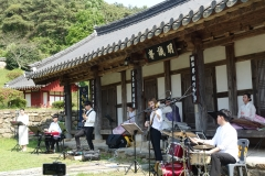 광주문화재단, 비엔날레 야외광장에서 '예술날개 트레일러' 공연