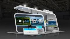 두산, '수소모빌리티+쇼' 수소드론·연료전지 기술 공개