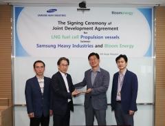 삼성중공업-블룸에너지, 친환경 선박 '공동개발' 맞손