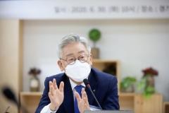 정부 부동산정책 훈수두는 이재명 경기지사