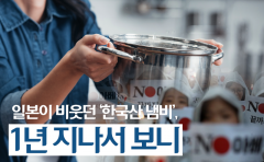 일본이 비웃던 '한국산 냄비', 1년 지나서 보니
