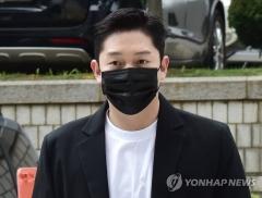 '故구하라 폭행·협박' 최종범 법정구속…항소심 징역 1년