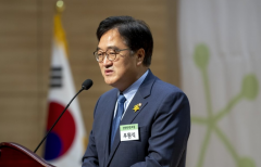우원식, 당대표 불출마…이낙연·김부겸 양자구도