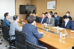 장세용 구미시장, LG 본사 찾아 '신사업 투자' 요청