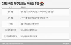 민주당, 다주택자 논란 정면 돌파…'부동산 5법' 재추진
