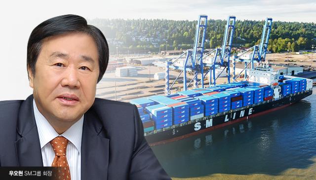 SM 우오현도 나섰다…수출 기업 위해 임시 선박 지원