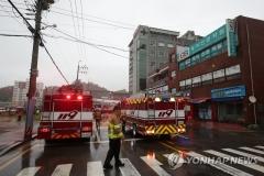 전남 고흥 병원서 화재 발생···사망 2명, 부상 56명