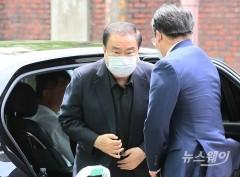 故 박원순 시장 빈소 도착한 문의상 전 국회의장
