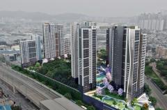 호반건설, 1800억원 규모 인천 송현 1·2차 재건축 정비사업 수주
