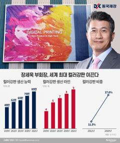 장세욱 부회장, 승부사 기질로 '세계 최대' 컬러강판 키운다