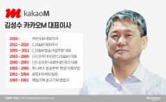 카카오M 종합콘텐츠 기업 주춧돌 다진 김성수 대표