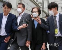 '직원들 상습폭행·폭언' 한진그룹 이명희, 징역 2년 집행유예 3년 선고