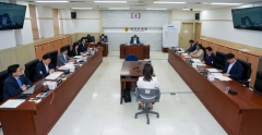 경기도의회 여성가족평생교육위, 박창순 위원장 주재 첫 회의 개최