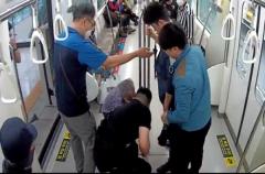 대구도시철도, 의식잃은 승객 심폐소생술로 소생