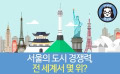 [친절한 랭킹씨]서울의 도시 경쟁력, 전 세계서 몇 위?