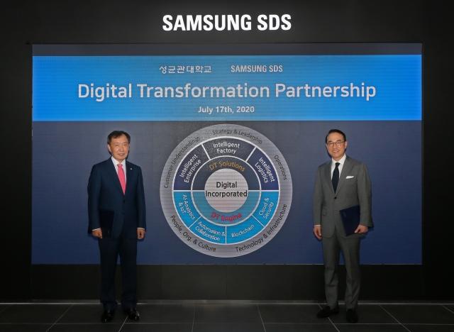 삼성SDS-성균관대, 인재 양성·디지털전환 위한 산학협약