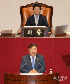 김태년 더불어민주당 원내대표 교섭단체 대표연설
