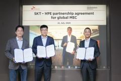 SKT, HPE와 협력…5G MEC 글로벌 수출길 연다