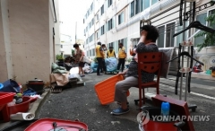 부산지역 기록적 폭우에 피해도 역대급