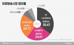 [유료방송 M&A③]KT 점유율 족쇄 풀렸지만···공공성·시장 지배력 이슈 '도마 위'