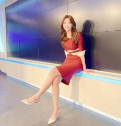 '호반건설' 김대헌 대표, 김민형 SBS 앵커와 교제