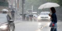 장마전선 영향에 수도권 집중호우…동부간선도로 전면 통제