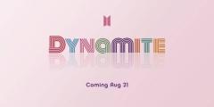 방탄소년단, 새 싱글 제목 'Dynamite' 공개…21일 전 세계 동시 발매