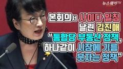 """[뉴스웨이TV]본회의서 사이다 일침 날린 김진애 """"통합당 부동산 정책, 하나같이 시장에 기름 붓자는 정책"""""""