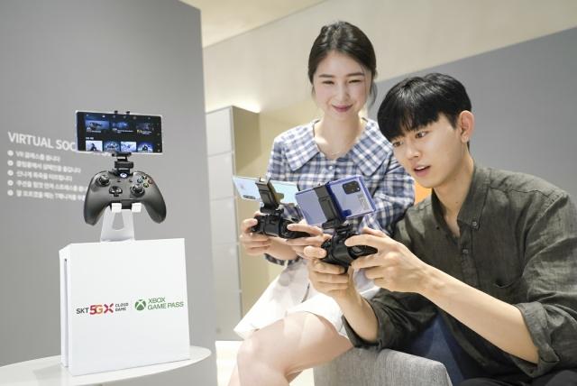 """SKT """"5G B2B 공략 확대, 클라우드 게임 100만 가입자 목표""""(종합)"""