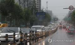 폭우로 한강 수위 상승…동부간선·강변북로 등 교통통제