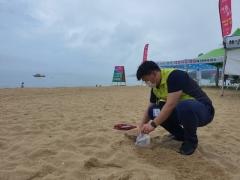 석유관리원, 동해·남해 유명 해수욕장 백사장 모래 오염여부 무료 검사