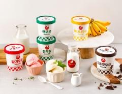 서울우유협동조합, 홈타입 아이스크림 4종 출시