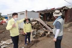 보성군, 구례군 수해 복구현장에 장비 및 인력 지원