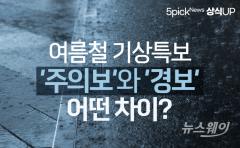 여름철 기상특보 '주의보'와 '경보'…어떤 차이?