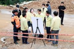 장현국 경기도의회 의장, 경기북부 주요 침수피해 현장점검