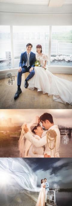 '헬스걸' 권미진, 결혼·임신 겹경사…웨딩 화보 공개