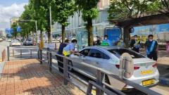 광주시, 택시 마스크 착용의무 위반자 강력 단속