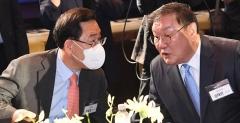 김태년 vs 주호영, 취임 100일…엇갈린 평가