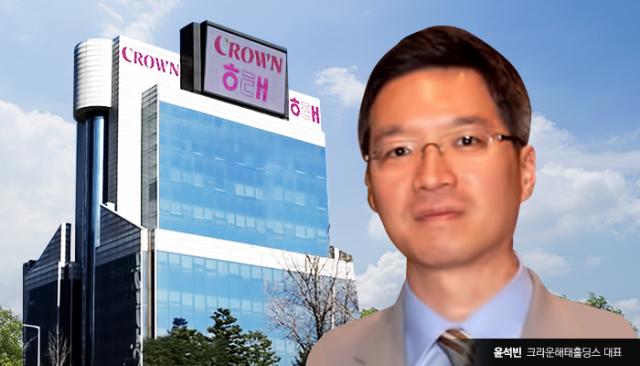크라운제과 3세 윤석빈 경영 성적은?