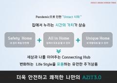 롯데건설 '포스트 코로나' 위한 주거공간 'AZIT3.0' 개발