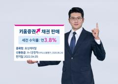 키움증권, 연 3.8% 수익률 효성캐피탈 채권 판매