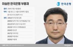 한국은행 안살림 맡은 '국제금융통' 이승헌 부총재